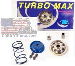 Turbo Kit Performance Variators for Moped Scooters