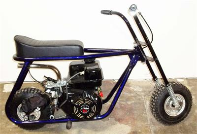 Bikes With Motors Fully-assembled Taco Mini Bike New Fully