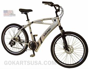 iZIP Urban Cruizer Enlightened Electric Bicycle