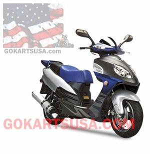 ACE Arrow 150 Moped Scooter, 2 Year Warranty