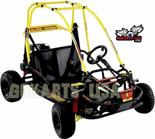 Black Widow Go Kart, by American Sportworks