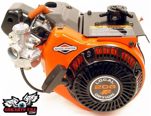Briggs Local Option 206 Kart Racing Engine Lo206
