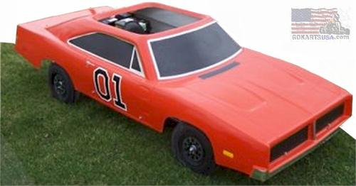 General Lee Gokart, Dodge Charger