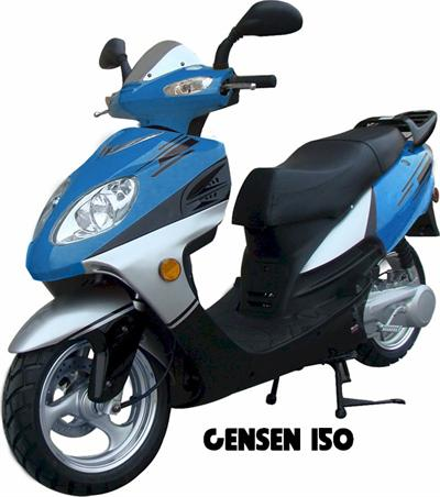 Gensen 150 Moped Scooter