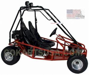 Kenbar SK-957 Gokart 6hp, Electric start, Torque Converter