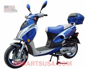 Roketa MC-07 Bahama 150 Moped Scooter