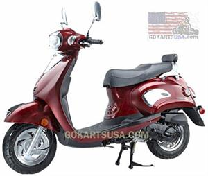 Roketa MC-17 Sicily 50 Moped Scooter