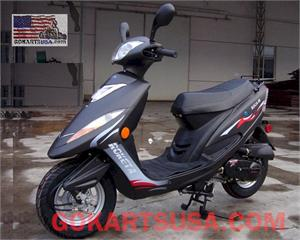 Roketa MC-37 Boca 50 Moped Scooter