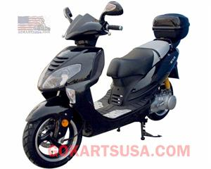 Roketa MC-72 150 Moped Scooter