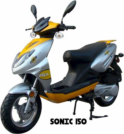 Moped Scooter 150cc Ssr Sonic Gokarts Usa