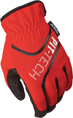 PIT TECH LITE GLOVES, Red