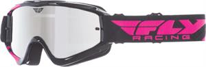 ZONE GOGGLE Black/Pink w/ Chrome/Smoke Lens