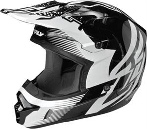 KINETIC INVERSION HELMET Black/White