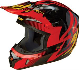 KINETIC INVERSION HELMET Black/Red