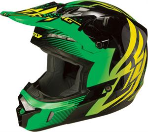 KINETIC INVERSION HELMET Green, Black