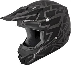 KINETIC BLOCK OUT HELMET Matt Black