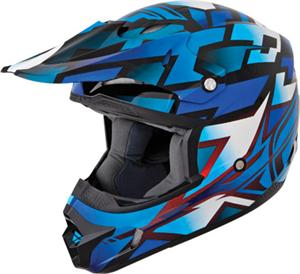 KINETIC BLOCK OUT HELMET Blue/Black