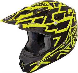 KINETIC BLOCK OUT HELMET Black/Yellow