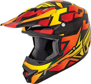 KINETIC BLOCK OUT HELMET Orang/Black