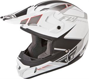 KINETIC IMPULSE HELMET Matte White/Black