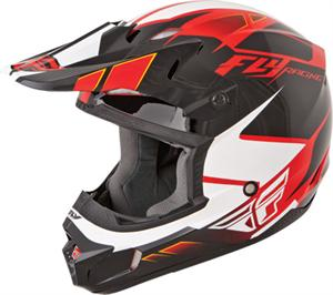 KINETIC IMPULSE HELMET Red/Black/White