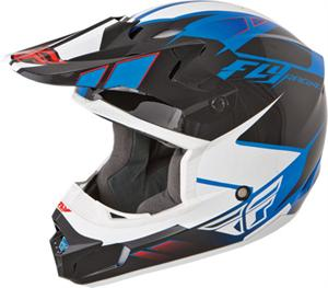 KINETIC IMPULSE HELMET Blue/Black/White