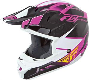 KINETIC IMPULSE HELMET Pink/Black/White