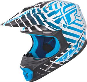 THREE.4 SONAR HELMET, White/Blue