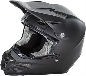 RACING F2 CARBON SOLID HELMET Matte Black