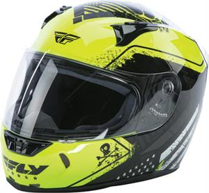 STREET FLY REVOLT PATRIOT HELMET Hi-Vis/Black