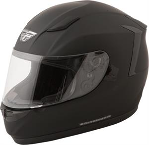 CONQUEST SOLID HELMET, Matte Black