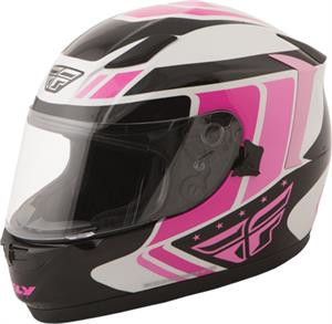 STREET CONQUEST RETRO HELMET Pink/Black/White