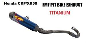 FMF Exhaust, for Honda CRF/XR50 4-Stroke Titanium