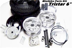 Mini Bike Parts Kit, Red Devil TRISTAR 6