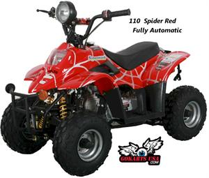 US Titan 110cc Spider Mini ATV, Hot Sale Fully Automatic, 6 inch Wheels