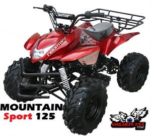 Mountan Sport 125 ATV, fully Automatic with Reverse