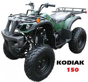 Kodiak 150 ATV, Fully Automatic wReverse, 10 inch wheels