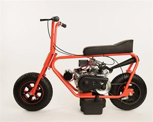 215 Minibike with optional Mikuni Carb and Stinger Exhaust