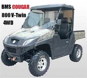 BMS Cougar 800 V-Twin UTV, 4WD