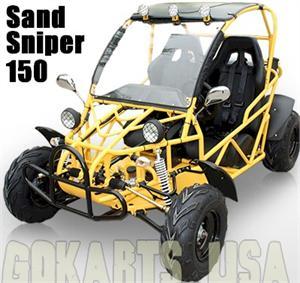 BMS Sand Sniper 150 Dune Buggy