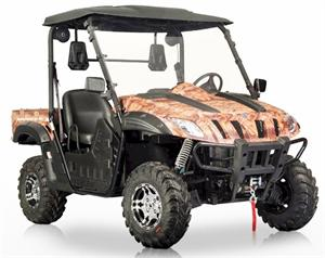 TrailMax EFI 600cc UTV Side X Side BMS Ranch Pony
