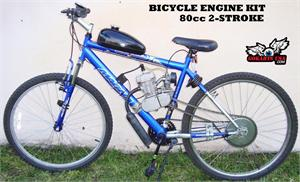 Bicycle Gas Engine Kit, BICYCLE NOT INCLUDED