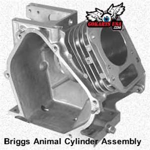 Cylinder Assembly, Briggs Animal Engine