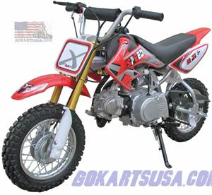 ADR 70 Mini Dirt Bike