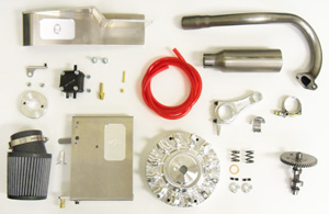 SuperBox Parts Kit, Honda GX160/200 and Clone Engines