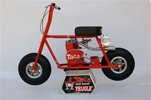 Taco Hot Tamale Mini Bike
