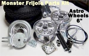 Monster Frijole Minibike Parts Kit, ASTRO 6
