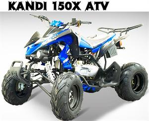 Kandi 150X Sport ATV, fully auto with reverse