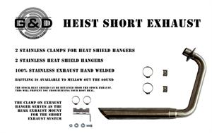 Heist Bobber G&D Short Exhaust