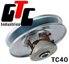 TC40 DRIVEN unit, Torque Converter 5/8 Inch Bore